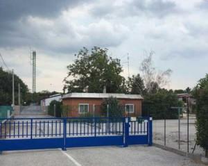Ingresso al Centro di Raccolta di via San Daniele.