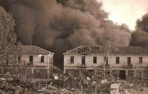 1943 bombardamenti inglesi ai Devoli