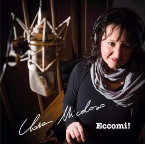 la copertina del CD di Clara 'Eccomi'